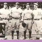 1995 Megacard Babe Ruth Card #3 Jimmie Foxx Lou Gehrig