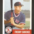 2002 Topps Heritage Freddy Sanchez Rookie Card #158