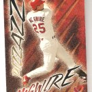 1998 Fleer Ultra Pizzazz Mark Mcgwire Card # 494