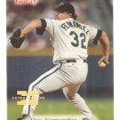 1998 Fleer Alex Fernandez Extra Edition Legends Of Today SP  /500 Card #70