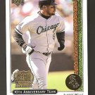 1998 Upper Deck Albert Belle Decade 10th Anniversary Card X17