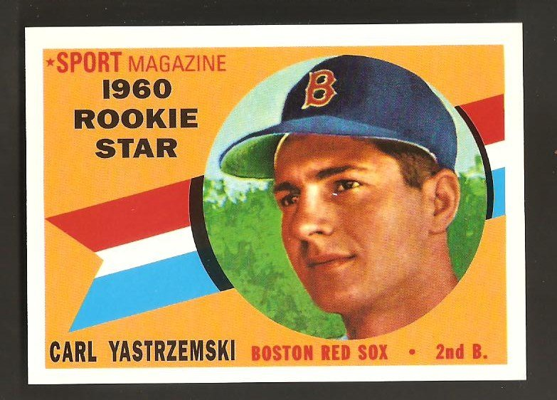 1998 Topps Stars Yastrzemski Rookie Card Reprint Card#5