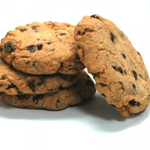 6 Chocolate Chip Cookie Hand Poured Soy Wax Tarts