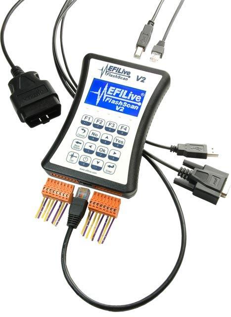 EFILive FlashScan V2 with GM & Dodge Cummins Tuning Option