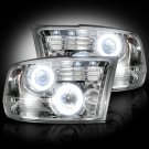 Part # 264270CLCC - CLEAR Projector Headlights Dodge RAM 09-12 1500 & 10-12 2500/3500