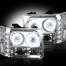 Part # 264271CLCC - CLEAR Projector Headlights GMC Sierra & Denali 07-12 CCFL Technology