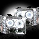Part # 264271CLCC - CLEAR Projector Headlights GMC Sierra & Denali 07-12 CCFL Technology