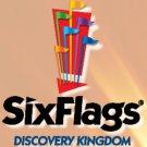 Six Flags Discovery Kingdom Ticket