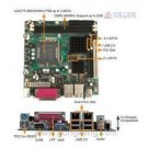 POS-6614-R10 V1.0 The industrial control board set dual NIC 775 structure