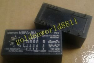 OMRON relay H3FA-BU 24VDC good in condition for industry use
