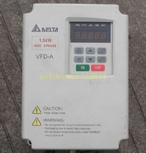 Delta frequency converter VFD015A43B 1.5KW 380V for industry use