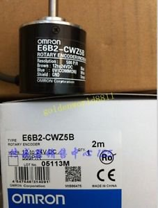 NEW Omron encoder E6B2-CWZ5B 500P/R good in condition for industry use