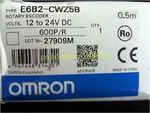 NEW Omron Rotary Encoder E6B2-CWZ5B 600P/R good in condition for industry use