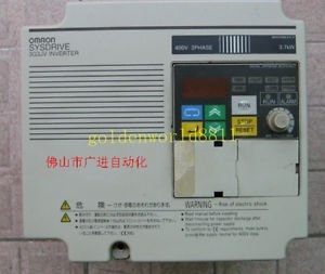 OMRON inverter 3G3JV-A4037 380V 3.7KW good in condition for industry use