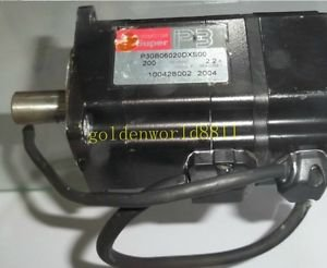 Sanyo servo motor P30B06020DXS00 good in condition for industry use