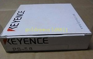 NEW KEYENCE PS-58 photoelectric switch good in condition for industry use