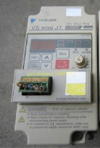 YASKAWA CIMR-J7ACB0P4 VS MINI J7 0.55KW 220V good in condition for industry use