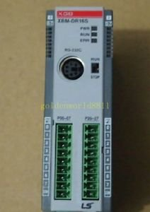 LS PLC programmable controller XBM-DR16S good in condition for industry use