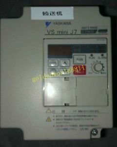 YASKAWA inverter CIMR-J7AA40P7 380V 0.75K good in condition for industry use