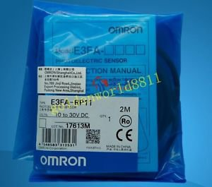 NEW OMRON Photoelectric Sensor E3FA-RP11-2M good in condition for industry use