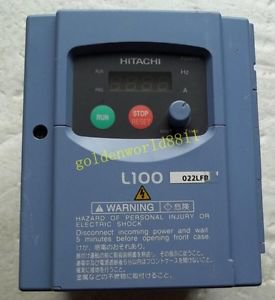 Hitachi inverter L100-022LFR 220V 2.2KW good in condition for industry use