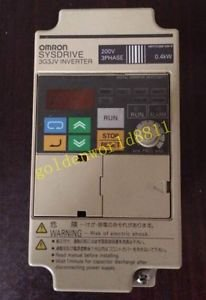OMRON inverter 3G3JV-A2004 0.4KW 220V good in condition for industry use