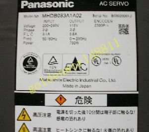 Panasonic servo driver MHDB083A1A02 good in condition for industry use