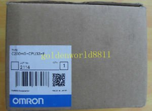 NEW OMRON CPU unit C200HG-CPU33-E good in condition for industry use