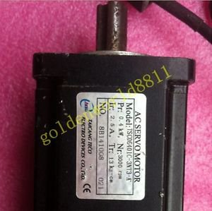 TECO servo motor TSC06401C-3NT3-A 400W good in condition for industry use