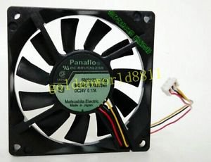 NEW Panaflo fan 8015 FBK08T24H DC24V 0.17A good in condition for industry use