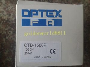 NEW Optex Photoelectric Switch CTD-1500P good in condition for industry use