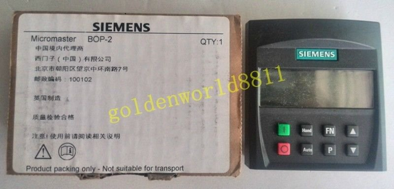 NEW Siemens inverter mm430 operation panel BOP-2 for industry use