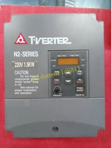 T-VERTER Inverter N2-202-M 220V 1.5KW good in condition for industry use