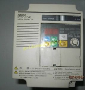 Omron Inverter 3G3MV-A4022 380V 2.2KW good in condition for industry use