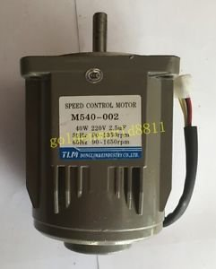TVT Speed regulating motor M540-002 220V/40W good in condition for industry use