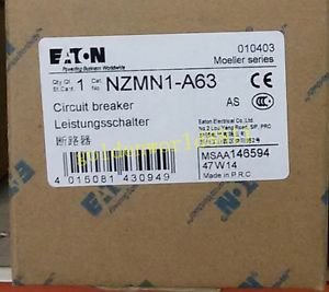 NEW MOELLER moulded case circuit breaker NZMN1-A63 for industry use