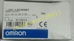 NEW OMRON SMART SENSOR ZX1-LD100A81 good in condition for industry use