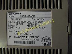 Yaskawa servo driver SGDB-07ADM good in condition for industry use