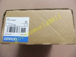 NEW OMRON programmable controller CS1W-DA08C good in condition for industry use