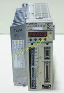 Omron servo driver SGDH-08AE-S-OY good in condition for industry use