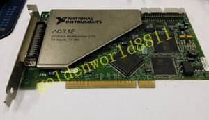 NI PCI-6035E data acquisition DAQ card good in condition for industry use