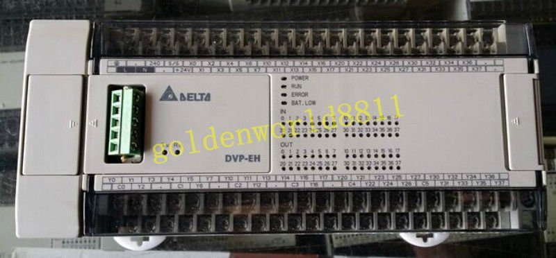 Delta Programmable controller DVP64EH00R2 good in condition for industry use