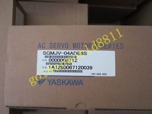 NEW Yaskawa servo motor SGMJV-04ADE6S good in condition for industry use