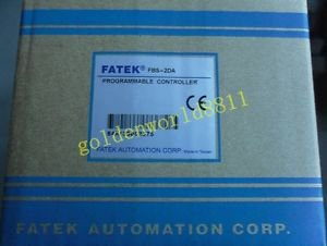NEW Fatek PLC analog module FBs-2DA FBs2DA good in condition for industry use