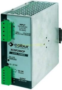 NEW CABUR XCSF240C 24V 10A Guide rail type switching power supply warranty