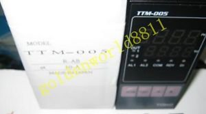 NEW TOHO TTM-005-R-AB Temperature Controller good in condition for industry use