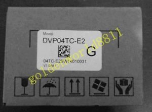 NEW DELTA PLC ES2 series analog expansion module DVP04TC-E2 for industry use