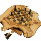 """Olive Wood Chess Set / Board - Small - 11"""""""