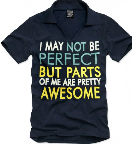 V-neck short sleeve men's t-shirt - Perfect