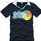 V-neck short sleeve men's t-shirt - California Vintage Surf